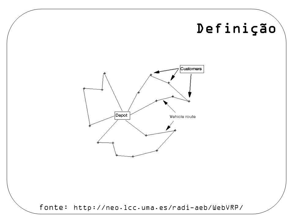 Franklina M. B. Toledo / Alysson M. Costa Definição fonte: http://neo.lcc.uma.es/radi-aeb/WebVRP/