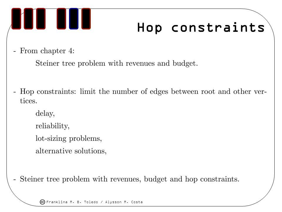 Hop constraints
