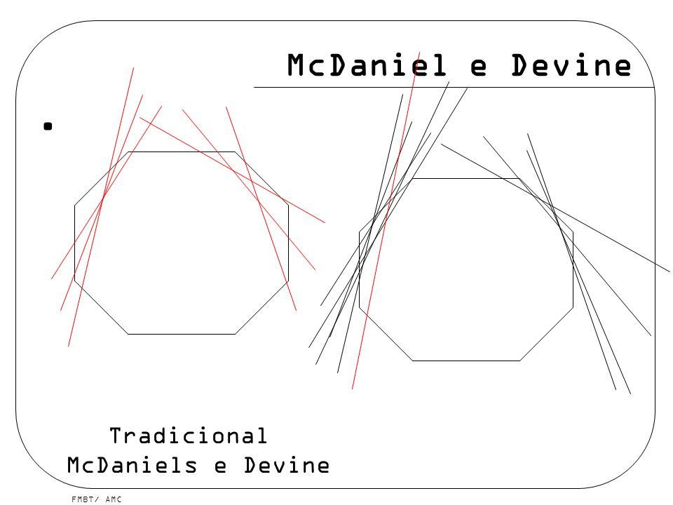 FMBT/ AMC McDaniel e Devine Tradicional McDaniels e Devine