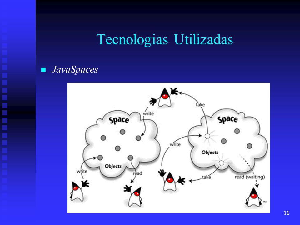 11 Tecnologias Utilizadas JavaSpaces