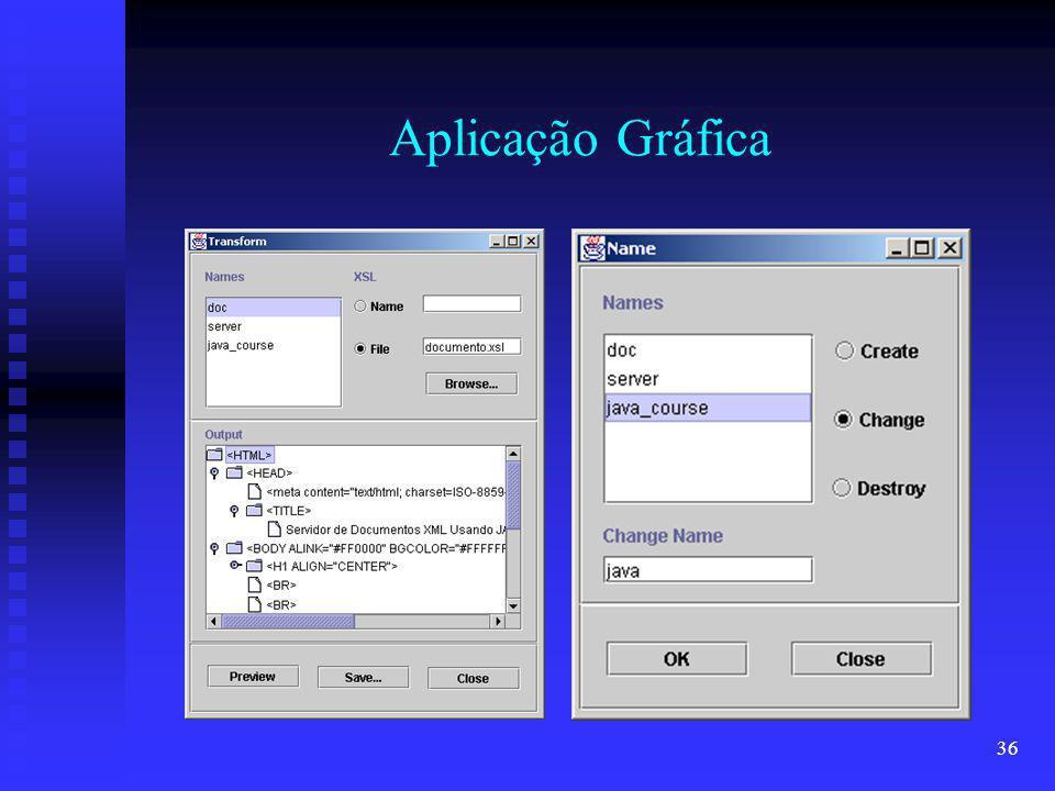 36 Aplicação Gráfica