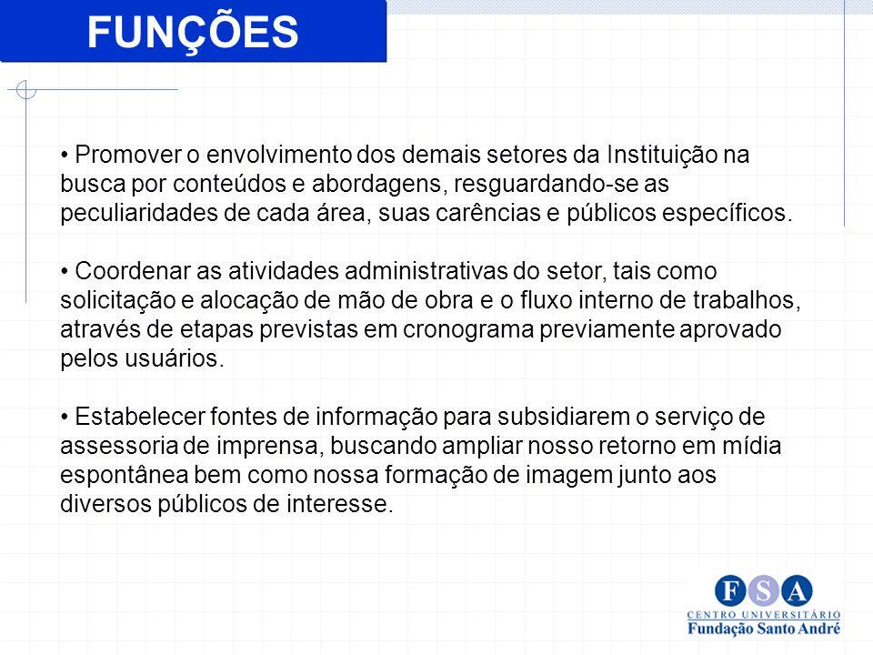 Assessoria de Imprensa (pautas, matérias e intermediação).