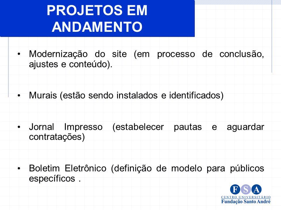 Consolidar os meios de comunicação necessários à instituição para integrar e informar os seus diversos públicos.