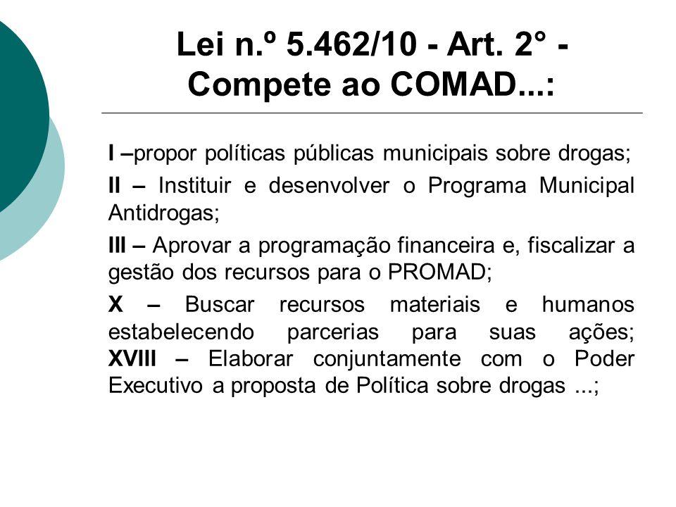 Lei n.º 5.462/10 - Art.