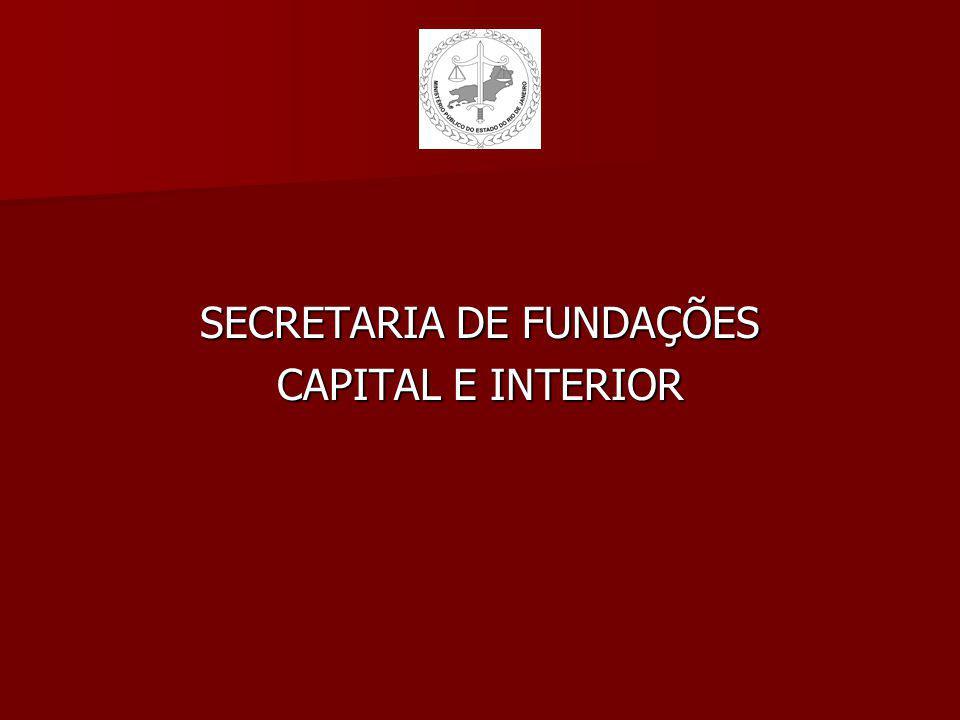SECRETARIA DE FUNDAÇÕES CAPITAL E INTERIOR