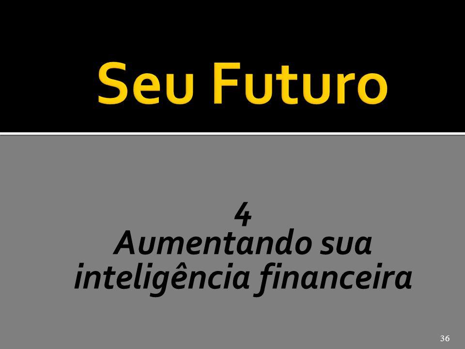 4 Aumentando sua inteligência financeira 36