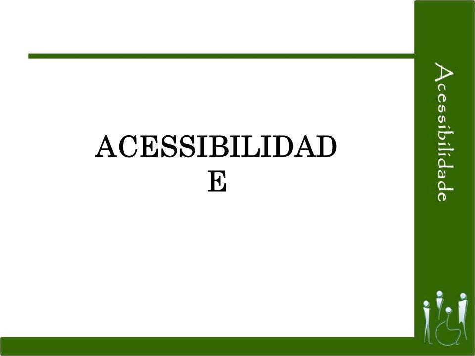 ACESSIBILIDAD E