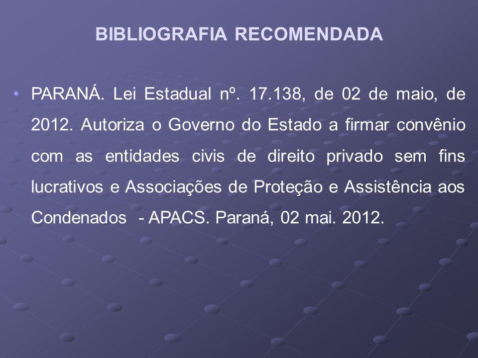 PARANÁ.Lei Estadual nº. 17.138, de 02 de maio, de 2012.