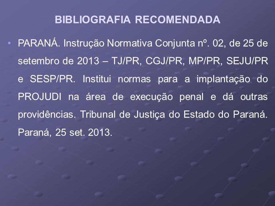 PARANÁ.Instrução Normativa Conjunta nº.