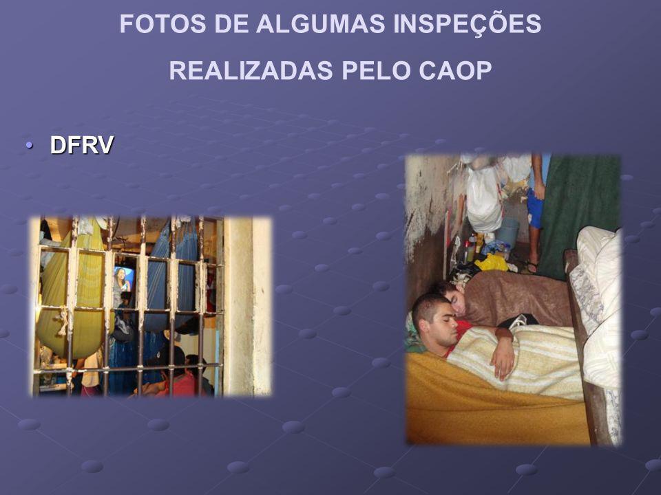 FOTOS DE ALGUMAS INSPEÇÕES REALIZADAS PELO CAOP DFRVDFRV