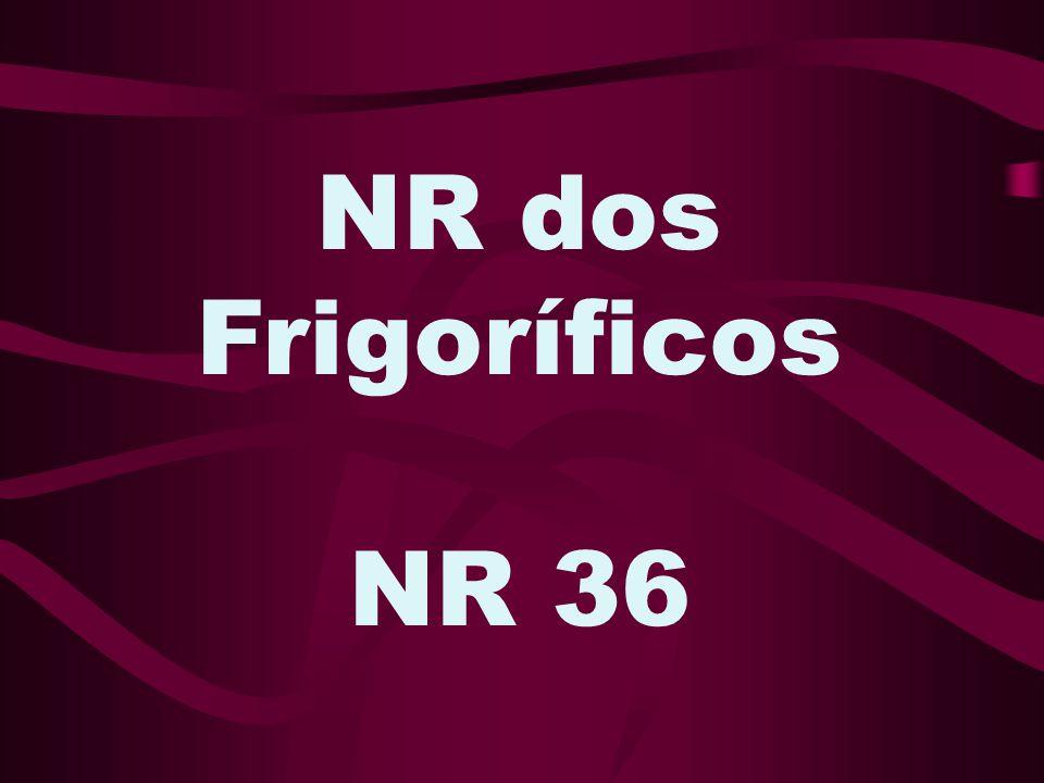 NR dos Frigoríficos NR 36