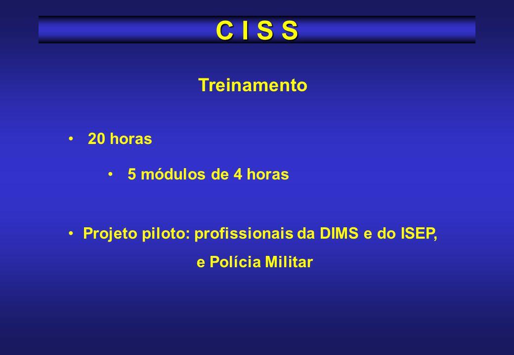 CISS / PR Comissão Estadual de Saúde e Segurança do Servidor Público CISS / PR Elaborar as diretrizes de ação e articular as demandas das CISS, hierar
