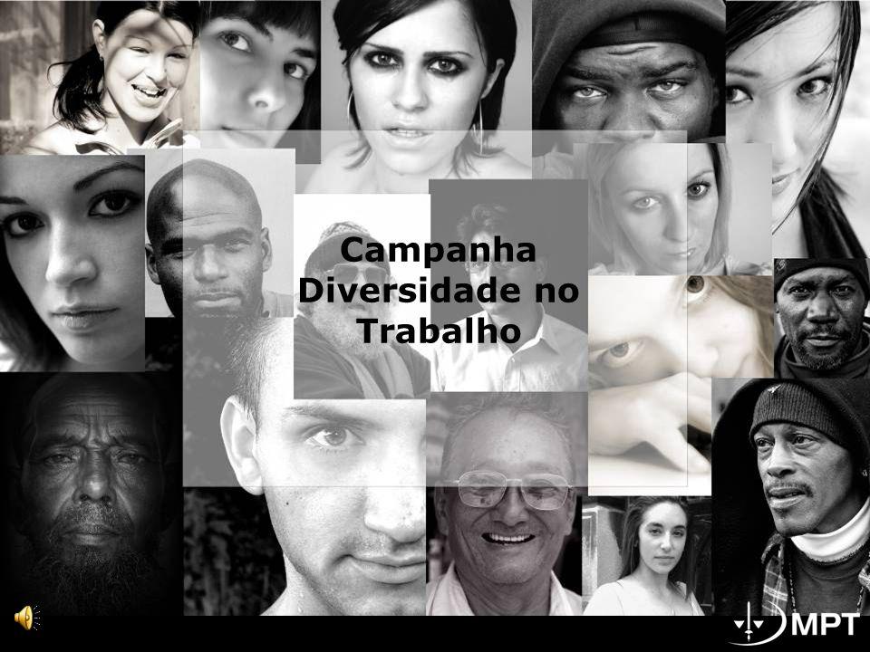 Campanha Diversidade no Trabalho