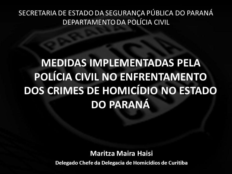 CRIAÇÃO DA POLÍCIA CIVIL NO ESTADO DO PARANÁ - 1853 - Primeiro chefe da Polícia Civil do Paraná.