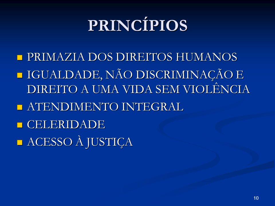 PRINCÍPIOS PRIMAZIA DOS DIREITOS HUMANOS PRIMAZIA DOS DIREITOS HUMANOS IGUALDADE, NÃO DISCRIMINAÇÃO E DIREITO A UMA VIDA SEM VIOLÊNCIA IGUALDADE, NÃO