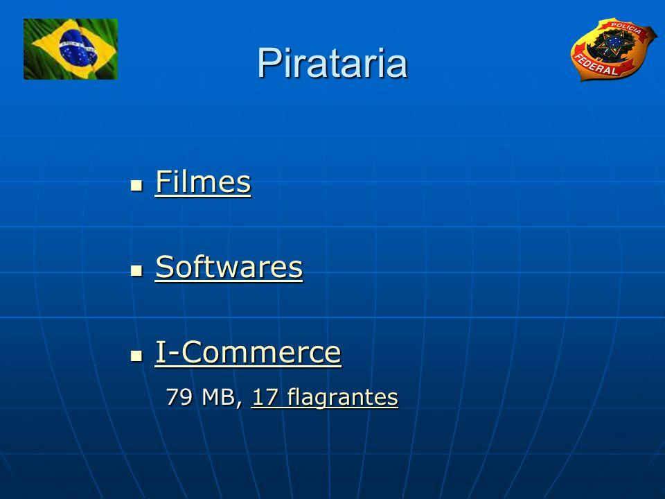 Pirataria Filmes Filmes Filmes Softwares Softwares Softwares I-Commerce I-Commerce I-Commerce 79 MB, 17 flagrantes 79 MB, 17 flagrantes17 flagrantes17 flagrantes