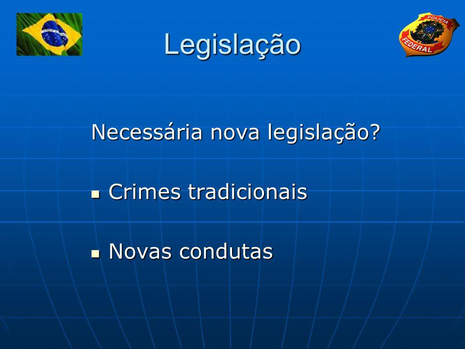 Legislação Necessária nova legislação.