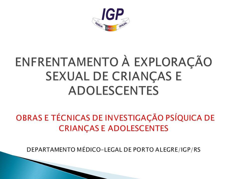 ENTREVISTA INVESTIGATIVA AVALIAÇÃO DO ESTADO MENTAL (SOFRIMENTO PSÍQUICO) HIPÓTESE DE ABUSO SEXUAL