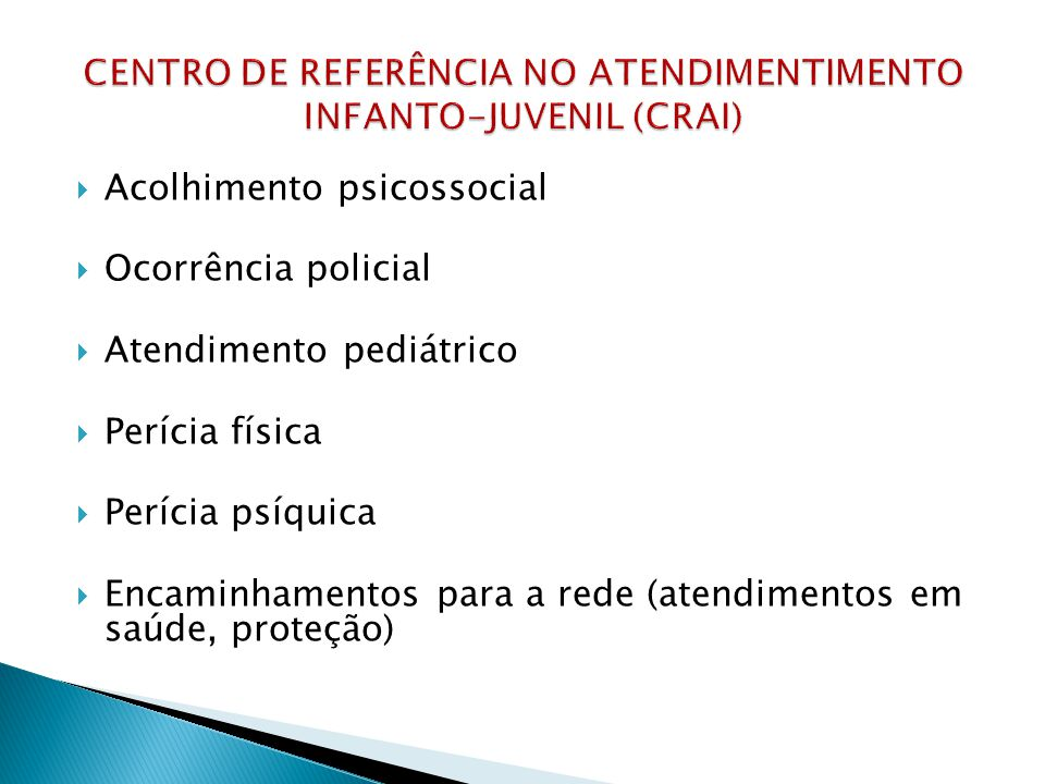estatística DML/CRAI/2013 ANOMÊSPERICIADOS 2013JANEIRO110 FEVEREIRO112 MARÇO124 ABRIL159 MAIO131 JUNHO120 JULHO98