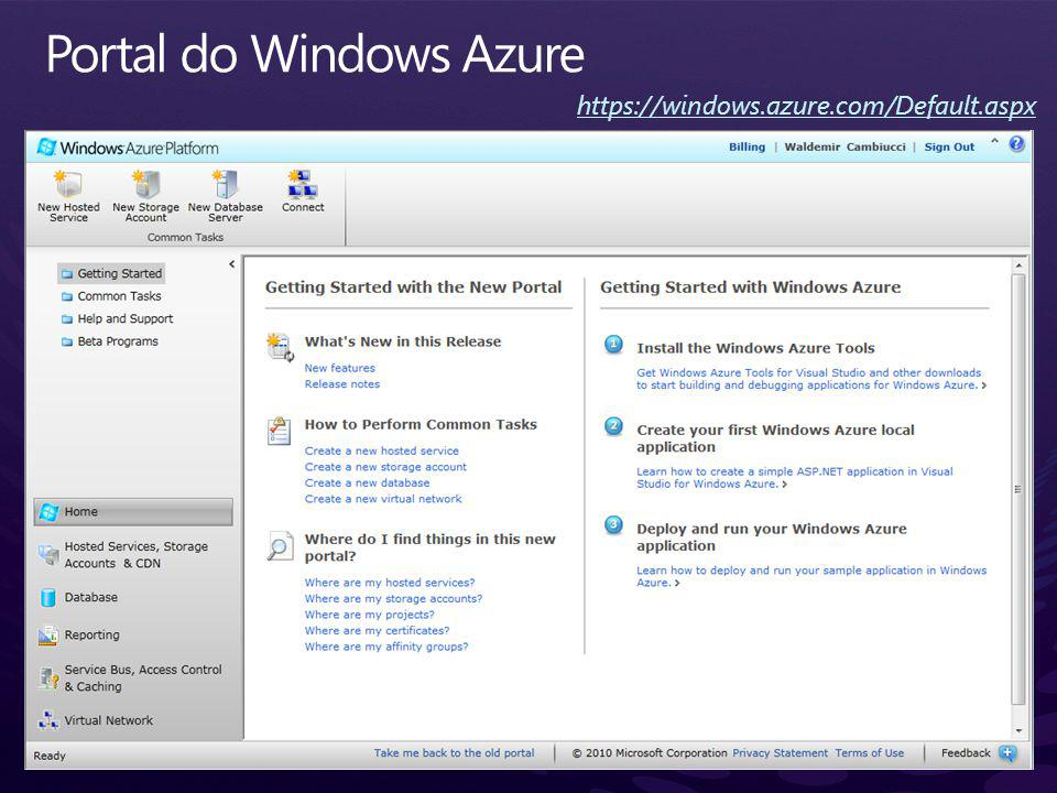 https://windows.azure.com/Default.aspx
