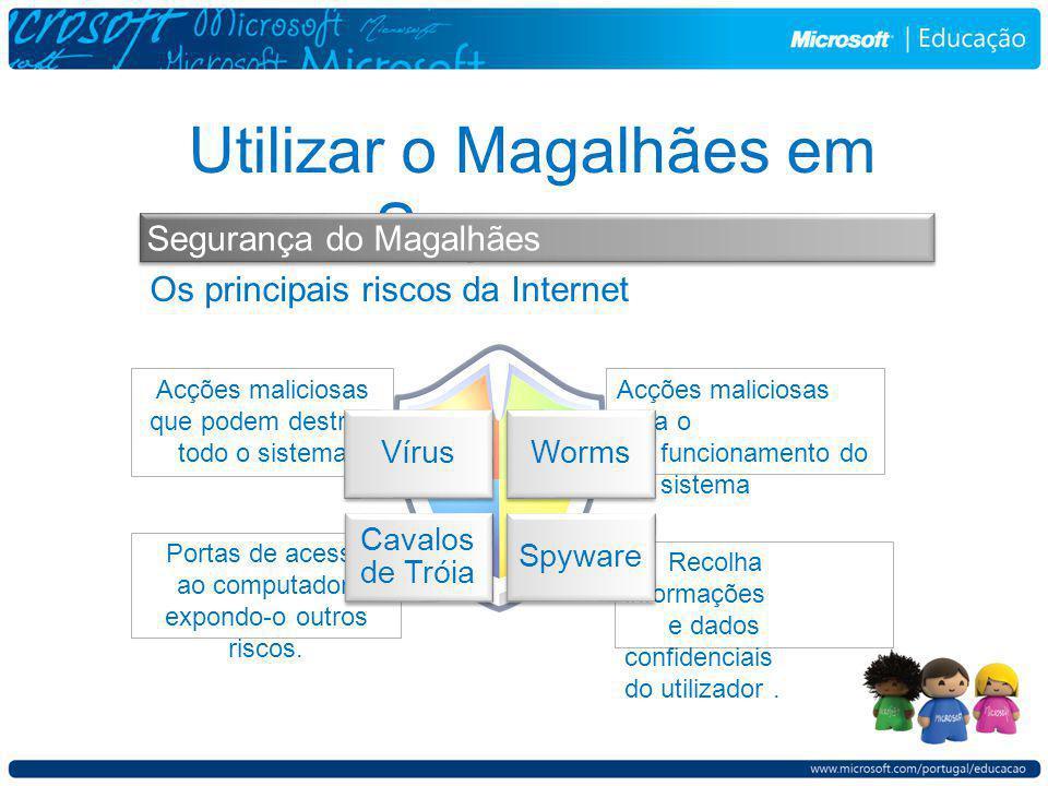 Recolha informações e dados confidenciais do utilizador.