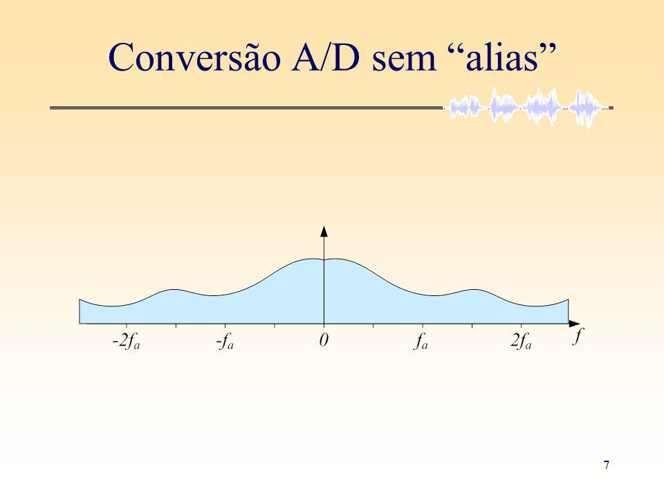 7 Conversão A/D sem alias