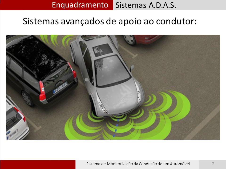 Sistemas para monitorização Sistema de Monitorização da Condução de um Automóvel 8 Controlo do AtlasCar
