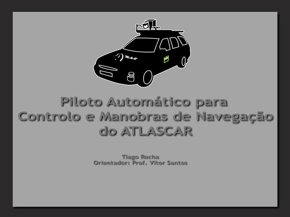 Objectivos Implementação de um sistema de controlo no ATLASCAR Implementação de um sistema de navegação autónoma: Navegação assistida Manobras de navegação