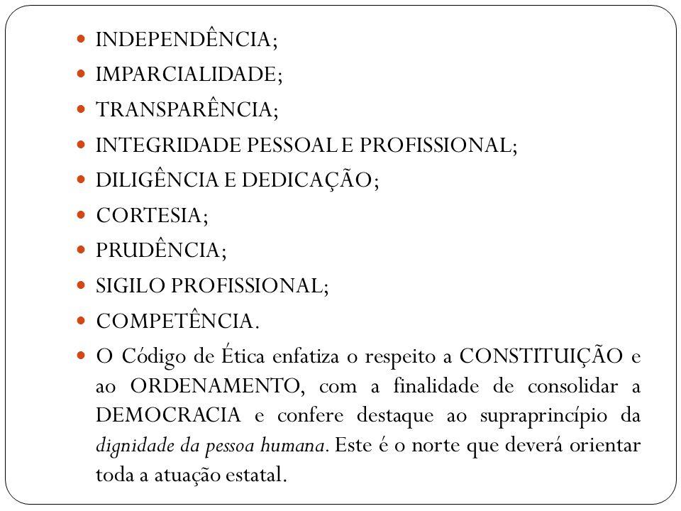 Nas disposições finais, o Código de Ética reafirma a subsidiariedade ante os deveres já contidos na Constituição, na LOMAN e nas demais disposições legais.