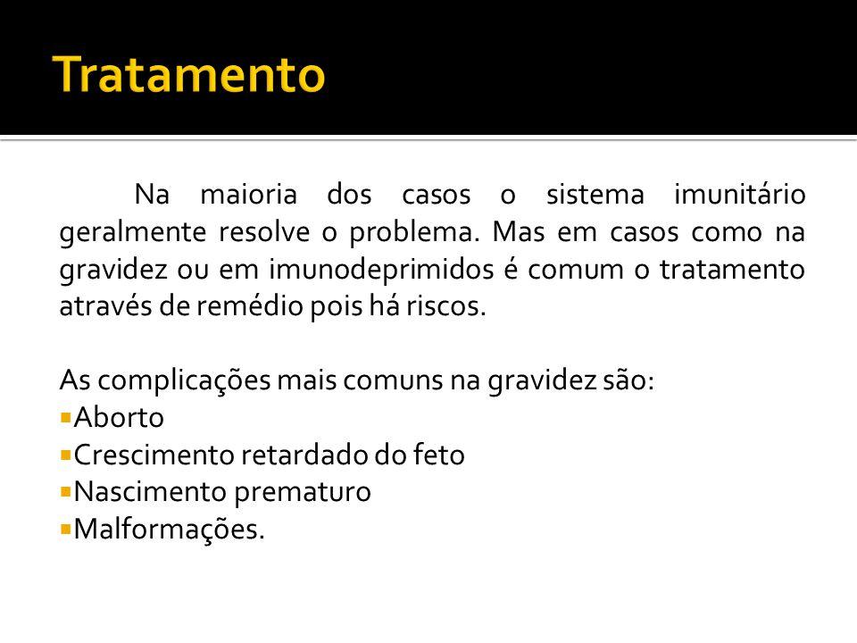 Na maioria dos casos o sistema imunitário geralmente resolve o problema.