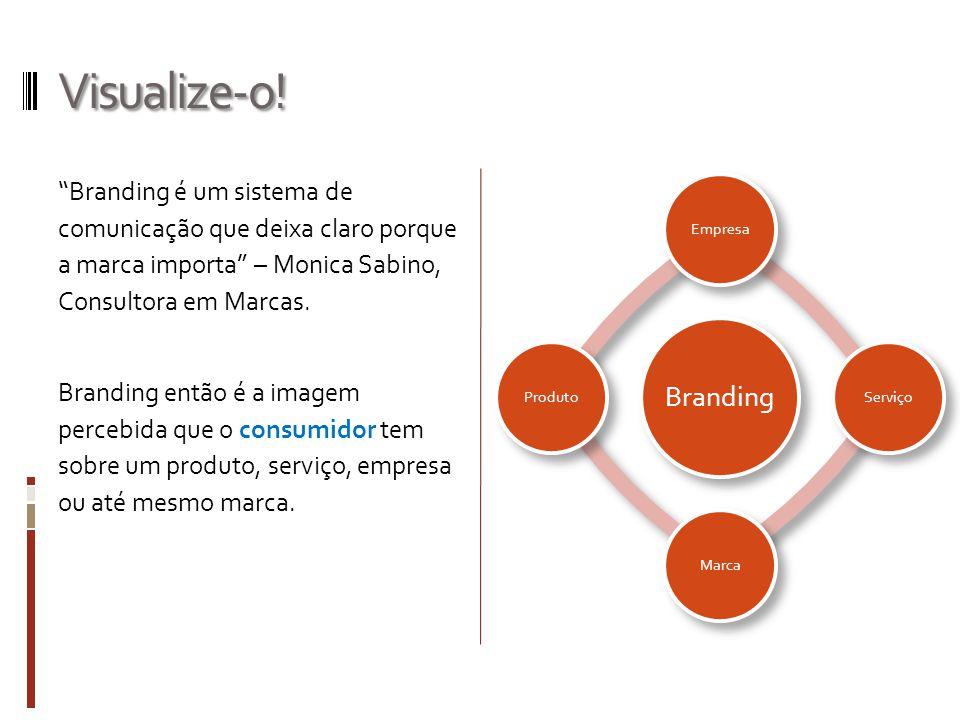 Visualize-o! Branding é um sistema de comunicação que deixa claro porque a marca importa – Monica Sabino, Consultora em Marcas. Branding então é a ima