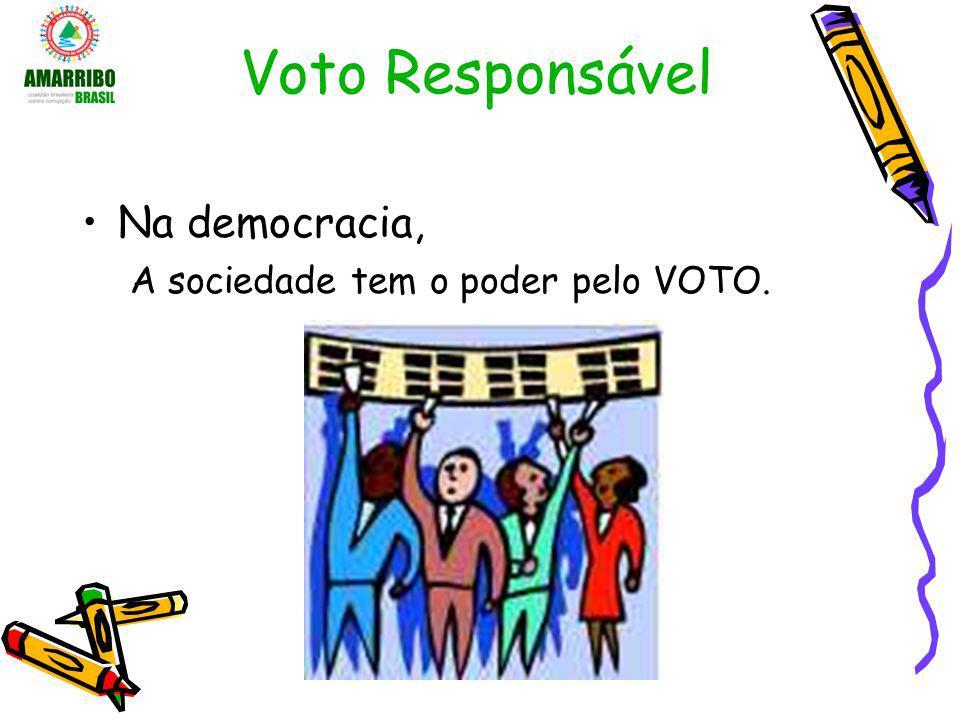 Voto Responsável Eleição é um momento em que o eleitor está no centro da decisão.