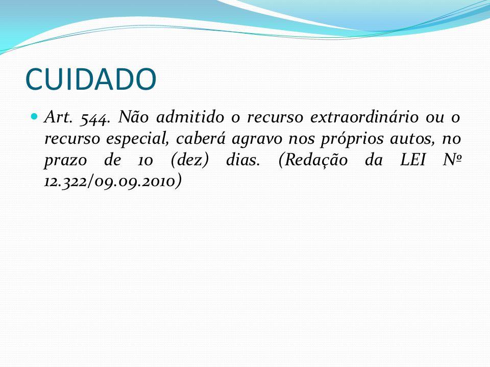 CUIDADO Art.544.