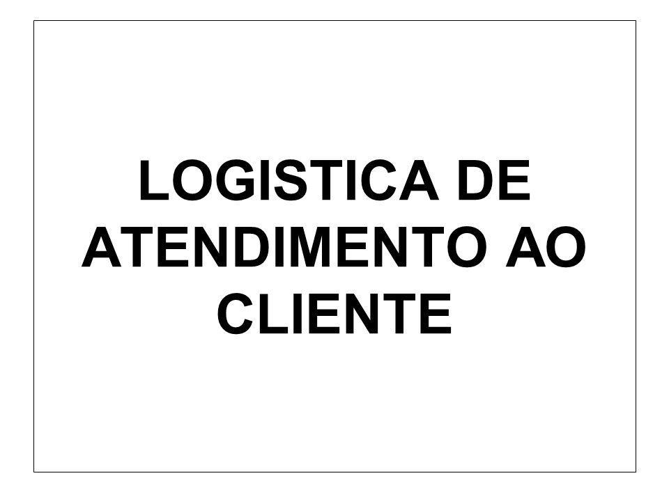 LOGISTICA DE ATENDIMENTO AO CLIENTE