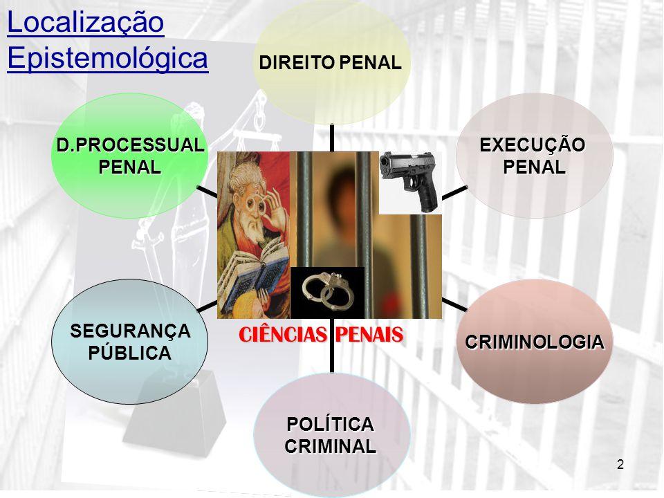 2 CIÊNCIAS PENAIS Localização Epistemológica