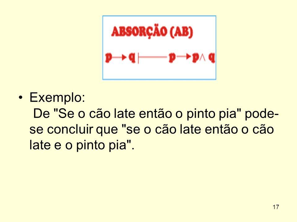 Exemplo: De