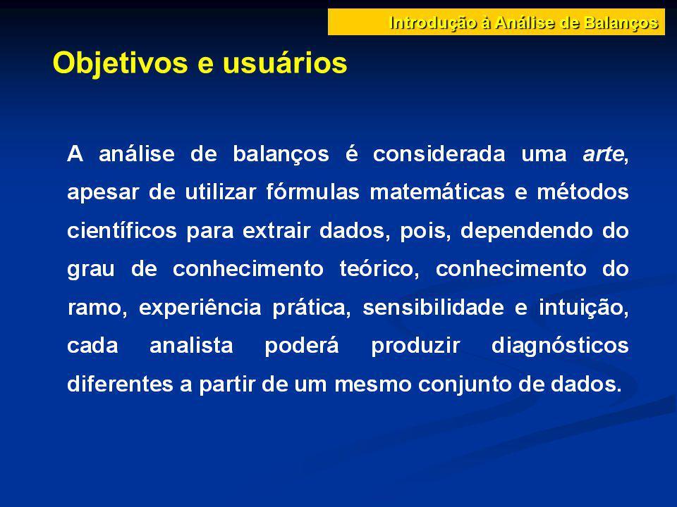Objetivos e usuários