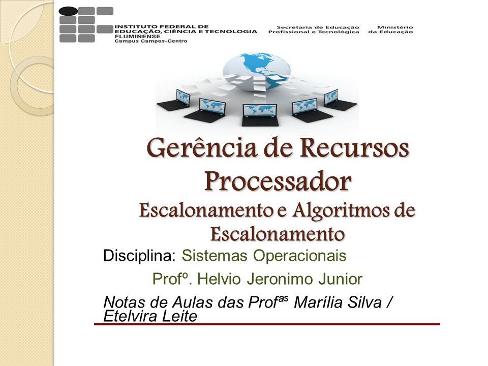 GERÊNCIA DE PROCESSADOR Com o surgimento dos sistemas multiprogramáveis, nos quais múltiplos processos poderiam permanecer na memória principal compartilhando o uso da UCP, a gerência de processador tornou-se importante.