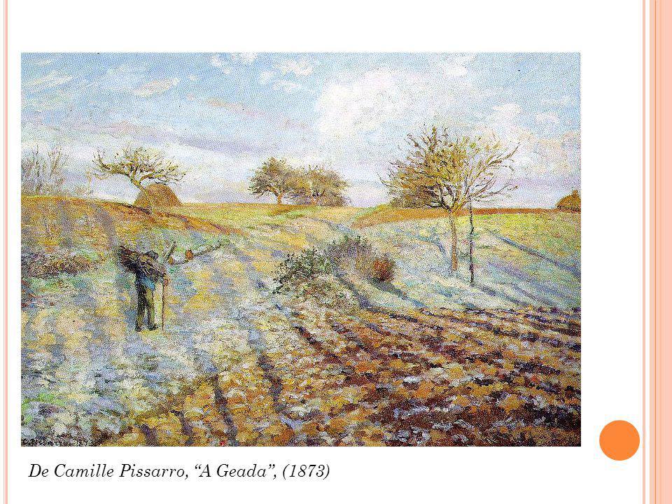 De Camille Pissarro, A Geada, (1873)
