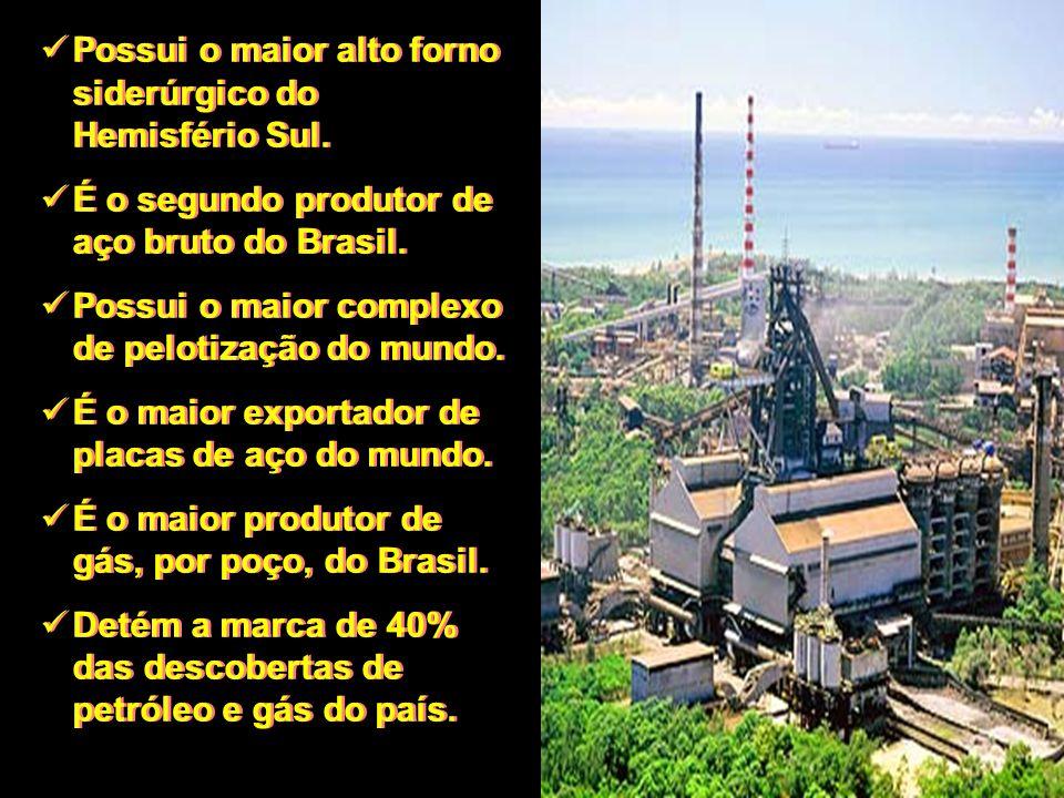É o maior produtor de mármore e granito do Brasil, e maior exportador da América Latina.
