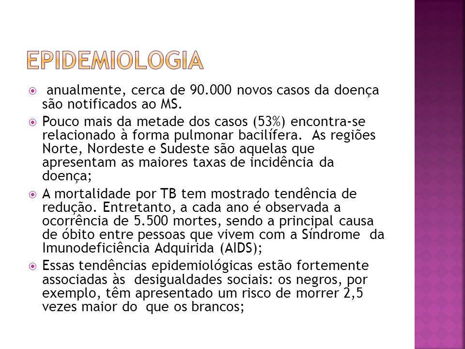 Cor negra; Extremos de idade; Alcoolismo; Desnutrição; Más condições de moradia; Algumas ocupações profissionais; Pacientes imunodeprimidos.