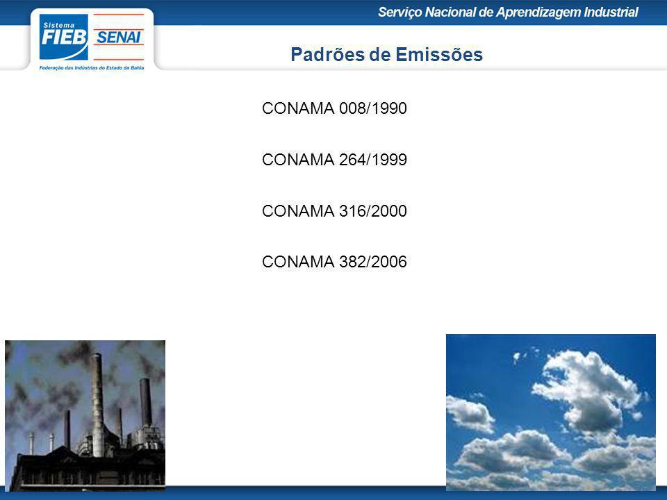 Duas redes de monitoramento da qualidade do ar: A rede de monitoramento do pólo industrial de Camaçari e a rede de monitoramento da região metropolitana de Salvador.