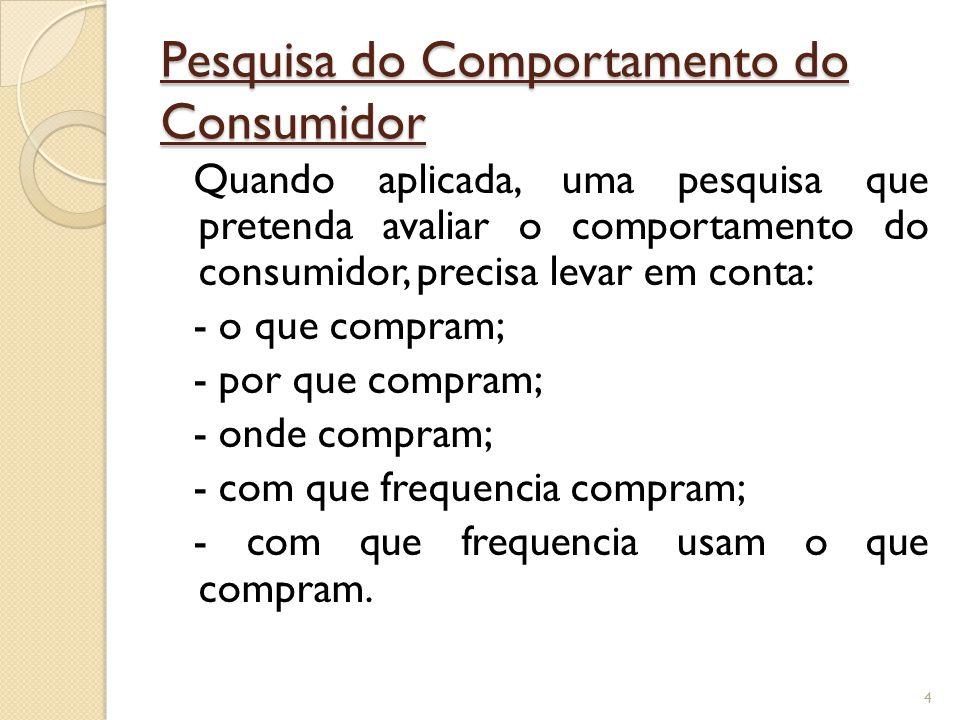 Consumidor Consumidor O consumidor é uma entidade compradora que possui necessidades e desejos. Alguns fatores afetam e impulsionam o comportamento do