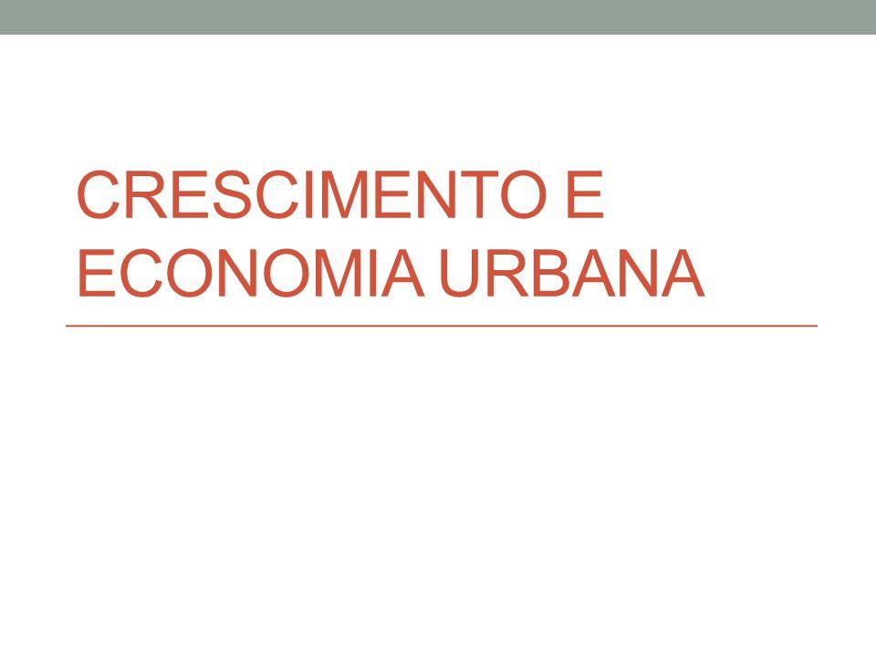 CRÍTICAS Cidades monocêntricas: (i) serve mais para avaliar cidades médias.