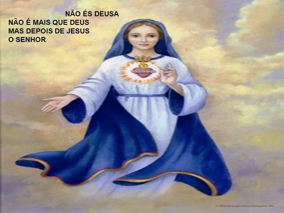 COMO É BONITA UMA RELIGIÂO QUE SE LEMBRA DA MÃE DE JESUS MAIS BONITO É SABER QUEM TU ÉS