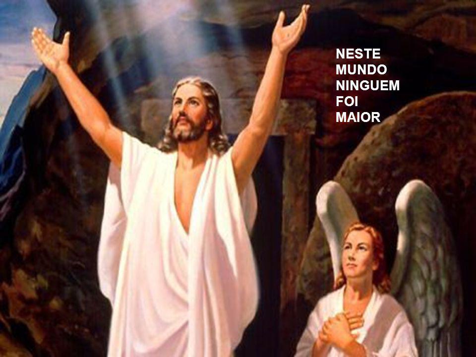 NÃO ÉS DEUSA NÃO É MAIS QUE DEUS MAS DEPOIS DE JESUS O SENHOR
