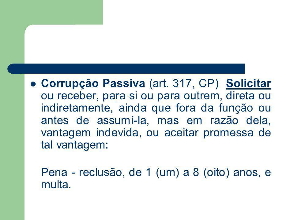 Corrupção Passiva (art.
