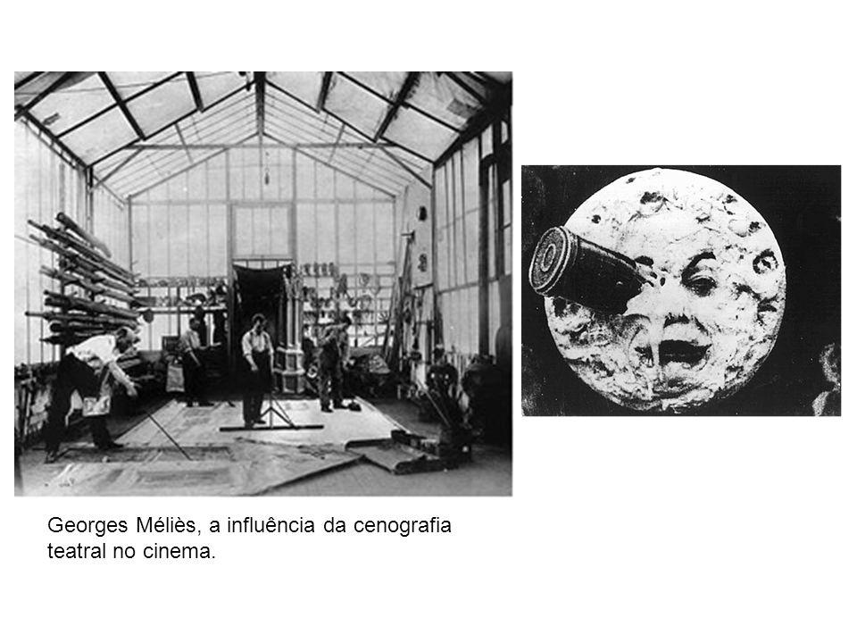 Georges Méliès, a influência da cenografia teatral no cinema.