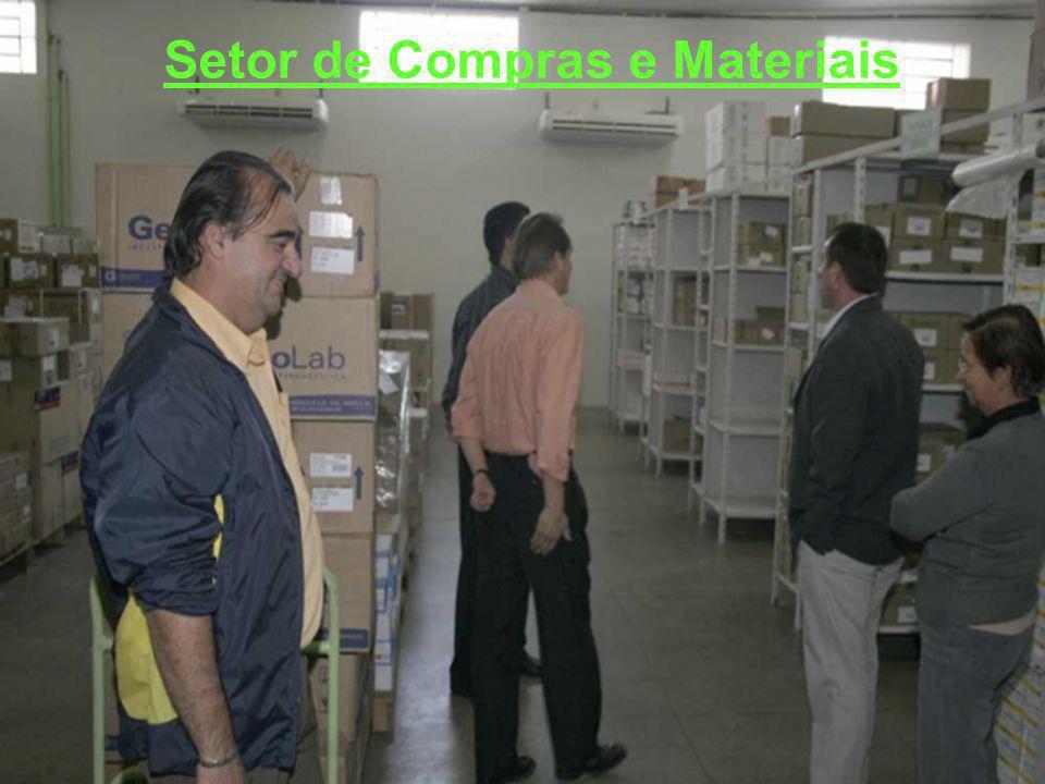 Setor de Compras e Materiais