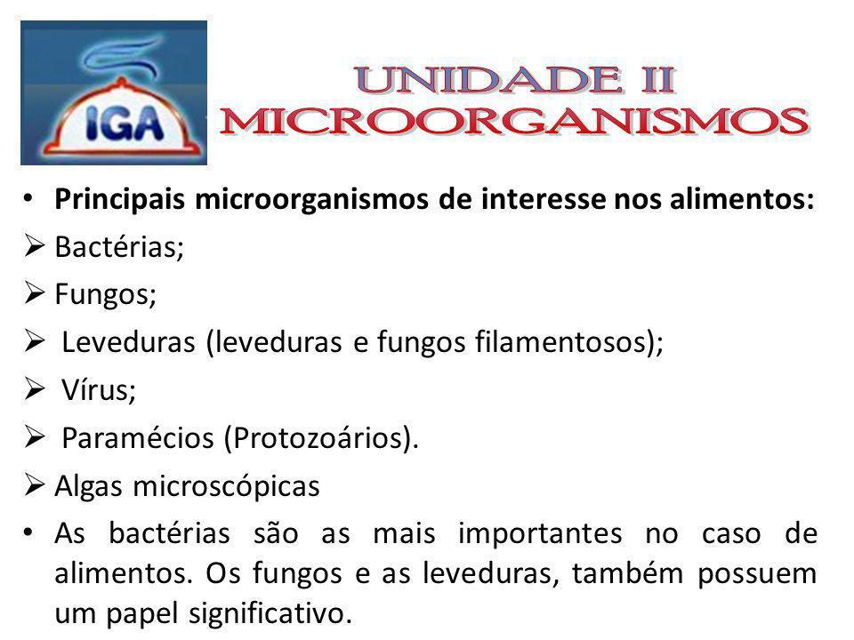 Os microorganismos são geralmente unicelulares; Podem ser patogênicos ( ex.